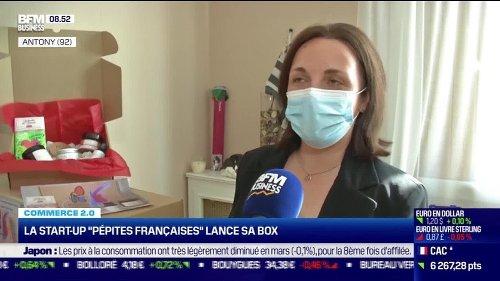 """Commerce 2.0 : La start-up """"Petites Françaises"""" lance sa box, par Anissa Sekkai - JJ/MM"""