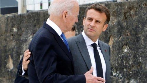 Crise des sous-marins: Après l'appel de Macron avec Biden, la classe politique ironise