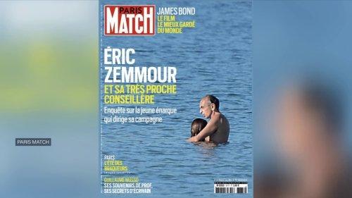Des photos privées d'Eric Zemmour en une de Paris Match