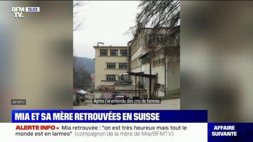 Mia retrouvée en Suisse: des témoins de l'interpellation de la mère racontent