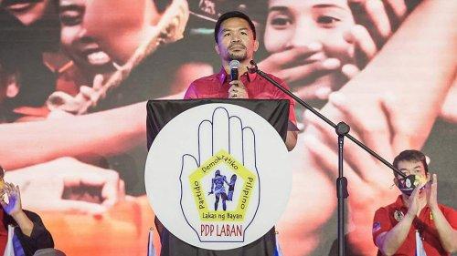 Boxe: Pacquiao raccroche et se lance dans le combat pour la présidentielle aux Philippines