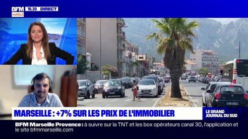 Marseille: une augmentation de 7% des prix de l'immobilier