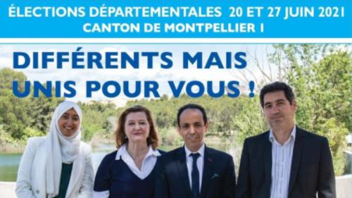 Sarah Zemmahi, candidate ex-LREM voilée à Montpellier, est-elle vraiment liée aux Frères musulmans?