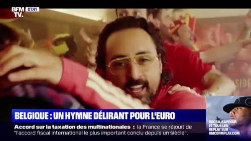 Euro 2020: l'hymne délirant créé par Pablo Andres et Roméo Elvis pour encourager la Belgique