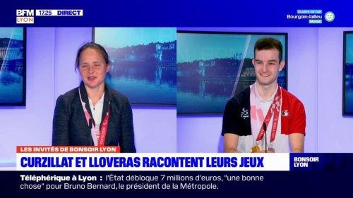 Annouck Curzillat et Alexandre Lloveras, médaillés aux Jeux paralympiques, invité de Bonsoir Lyon