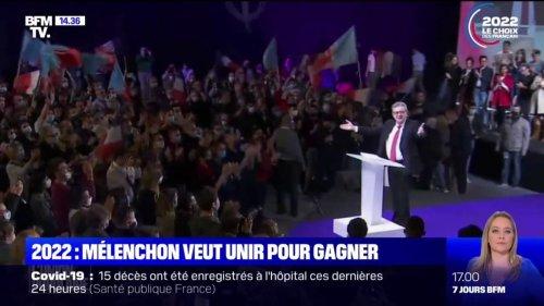 Présidentielle: ce qu'il faut retenir du discours de Jean-Luc Mélenchon à Reims