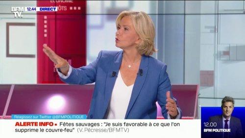 """Valérie Pécresse """"ne se pose pas"""" la question de la présidentielle 2022"""