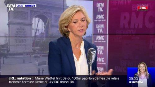 """Valérie Pécresse sur l'âge de départ à la retraite: """"Oui, bien sûr il faudra passer progressivement à 64, puis à 65 ans"""""""