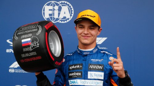 GP de Russie: Lando Norris s'offre sa première pole à Sotchi