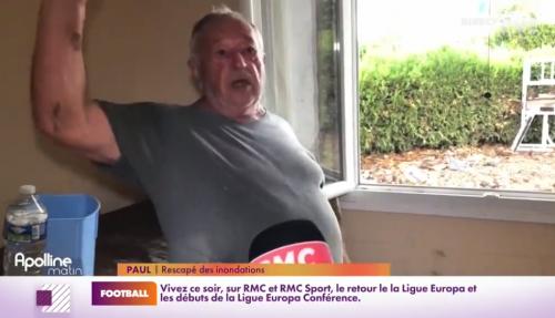 « Je n'avais plus pied dans mon jardin! »: la grosse frayeur de Paul, retraité, durant les inondations-éclair du Gard