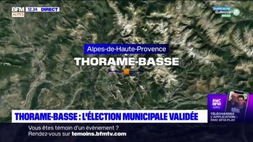 Thorame-Basse: le Conseil d'État valide le résultat de l'élection municipale