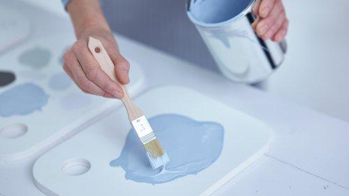 Vers une pénurie de peinture bleue?
