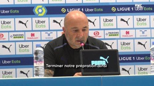 """OM 2-1 Villarreal (amical) : """"C'est un bon présage pour la suite"""" s'exalte Sampaoli"""