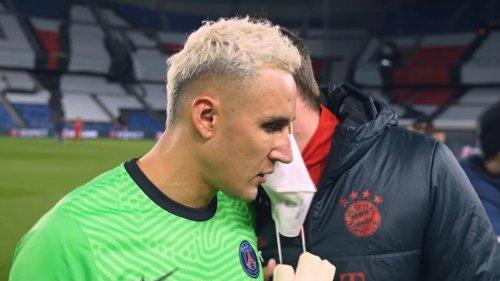 PSG-Bayern: l'embrouille entre Navas et un membre du staff allemand en fin de match