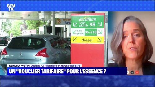 """Un """"bouclier tarifaire"""" pour l'essence - 17/10"""