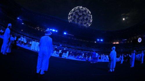 JO 2021: l'image forte de la cérémonie d'ouverture avec la Terre faite de 1824 drones