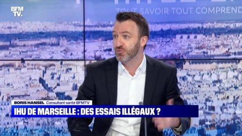 IHU de Marseille : des essais illégaux ? - 24/10