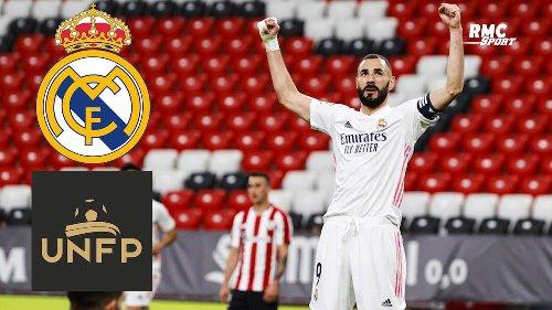 """Real Madrid : Benzema se dit """"honoré"""" de recevoir le prix du meilleur français évoluant à l'étranger"""