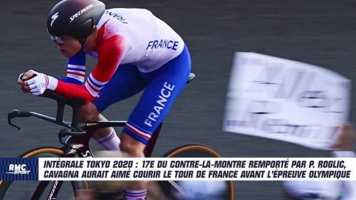 """JO 2021 (Cyclisme) : """"J'aurais eu besoin de faire le Tour de France"""", Cavagna amer après sa 17e place au contre-la-montre"""