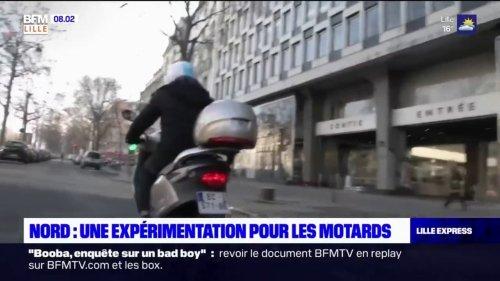 Nord: la circulation inter-files pour les motards expérimentée