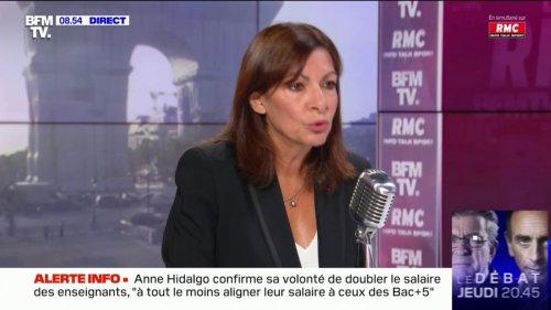 """Anne Hidalgo cherche à ce que des salles de shoot soient placées """"à proximité des hôpitaux"""""""