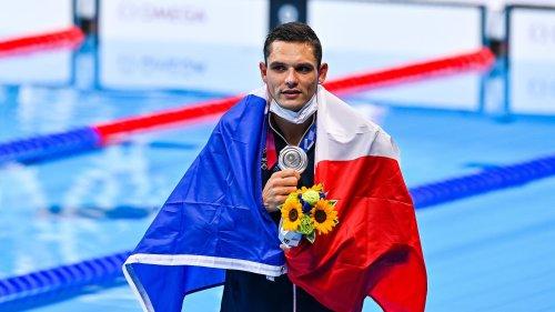 JO 2021 (natation): après sa nouvelle médaille, Manaudou n'exclut pas d'être à Paris 2024