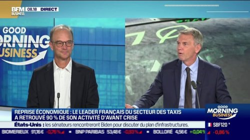 """Nicolas Rousselet (PDG des Taxis G7): """"La multiplication du nombre de véhicules à Paris a donné un coup d'électrochoc aux chauffeurs de taxis qui ont fait leur révolution culturelle!"""""""