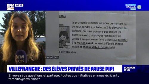 Villefranche-sur-Saône: des élèves de maternelle privés de pause toilette, une enseignante rappelée à l'ordre