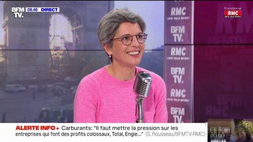"""Sandrine Rousseau: """"Je pense qu'Éric Zemmour a peur des femmes"""""""