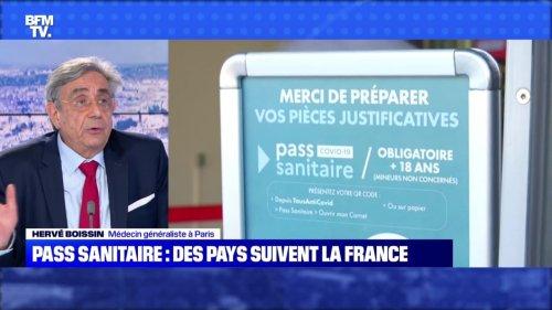Pass sanitaire: des pays suivent la France - 31/07