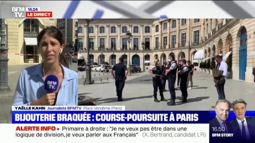 Un braquage a eu lieu dans une bijouterie place Vendôme à Paris