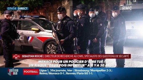 Policiers tués à Avignon et Rambouillet: « En 30 ans, le risque de décès pour un policier a été divisé par trois », assure un chercheur du CNRS