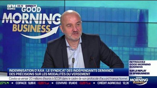 Marc Sanchez (Syndicat des indépendants): Le Syndicat des indépendants demande des précisions sur l'indemnisation d'Axa - 11/06