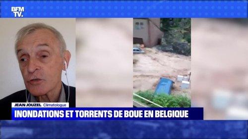 Inondations et torrents de boue en Belgique - 25/07