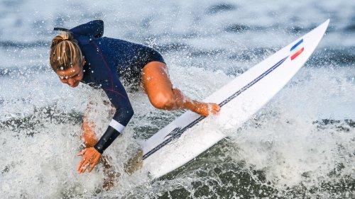 JO 2021 (surf): favorite pour la médaille, la Française Defay déjà éliminée