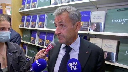 """Nicolas Sarkozy: Les États-Unis """"pensent avoir gagné sur un contrat, mais ils ont beaucoup perdu sur le long terme"""""""