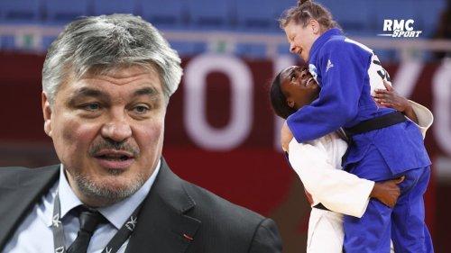 """JO 2021 (judo) : Douillet explique pourquoi Agbégnénou a """"embrassé"""" son adversaire en finale"""