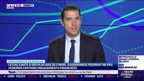 Alexandre Baradez (IG) : Comment interpréter la forte baisse aujourd'hui en Bourse ? - 20/09