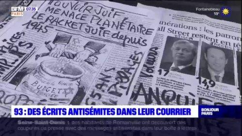 Seine-Saint-Denis: des écrits antisémites dans leur courrier