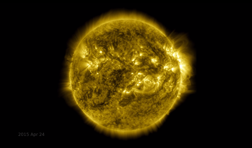 Here's what a solar eruption looks like to NASA's newest probe