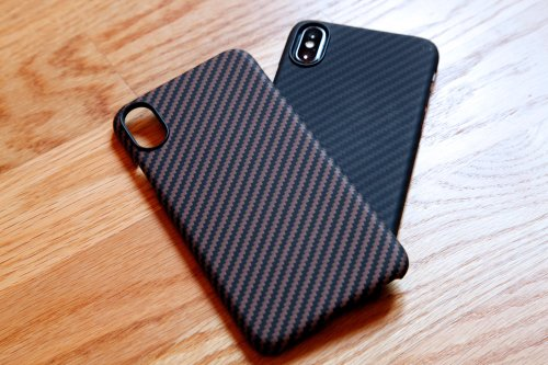 Nothing looks or feels better than these ultra-thin iPhone cases made of real body armor