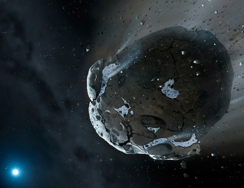 A 65-foot-long asteroid just sped past Earth and we almost missed it