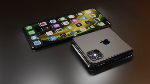 This folding iPhone Flip concept might be cooler than the iPhone 13