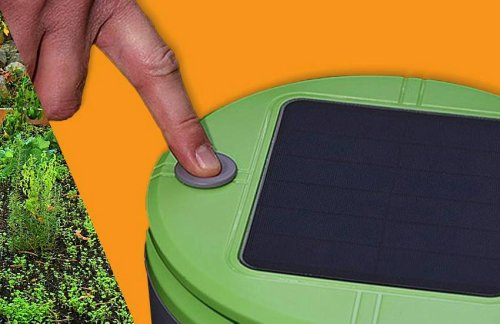 The guy who invented Roombas made a new weed-chopping robot that never needs to be charged