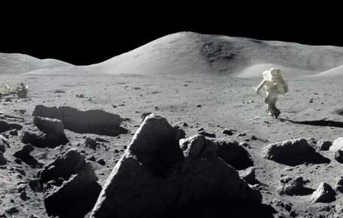 NASA just released gorgeous new panoramas from the Apollo missions