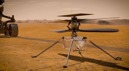 NASA nails fifth Mars helicopter flight