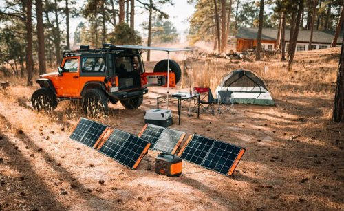 This solar generator gave me a tiny, sweet taste of living off the grid