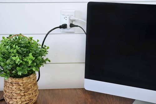 This $40 Amazon find gives you four power outlets without needing any extra space