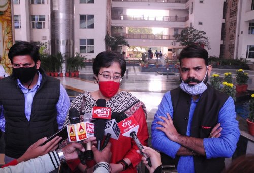 Covaxin stock for 18-45 of age finished in Delhi: Aatishi