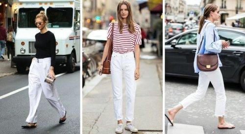 Jean blanc : 12 façons hyper stylées et originales de le porter selon Pinterest